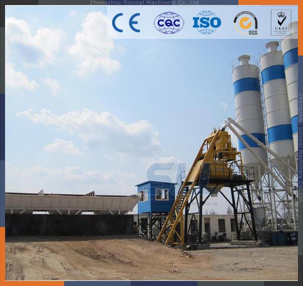 Zhengzhou Sincola Mobile Concrete Mixing Plant Concrete Batching Plant