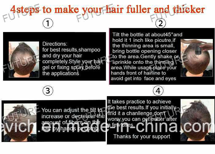 Fashion Mineral Hair Powder Hair Building Fiber Toppik