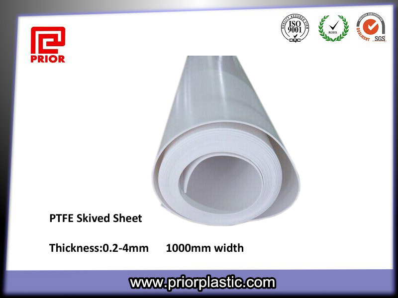 Best Quality 100% Virgin Teflon Skived PTFE Sheets