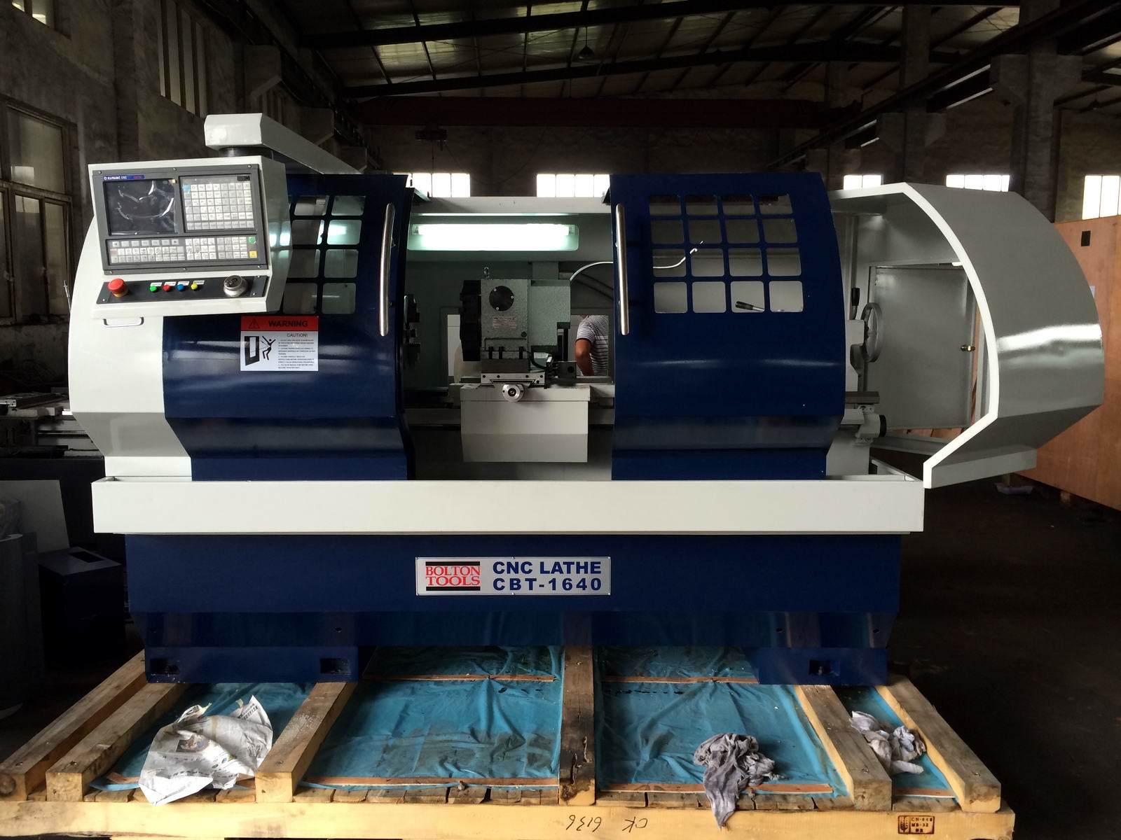 CNC Lathe with Flat Bed and Hardened Rail Ek6140X1500