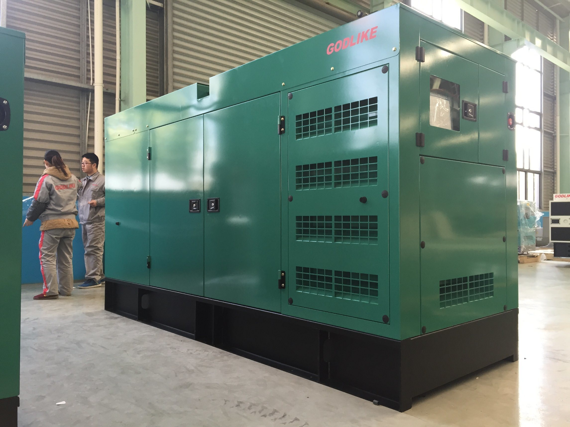 China 200kVA Cummins Diesel Generator Set with Automatic Start