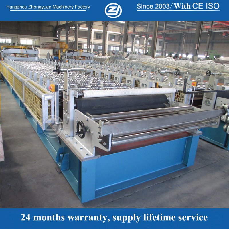 High Working Speed Aluminum Tile Roll Forming Machine