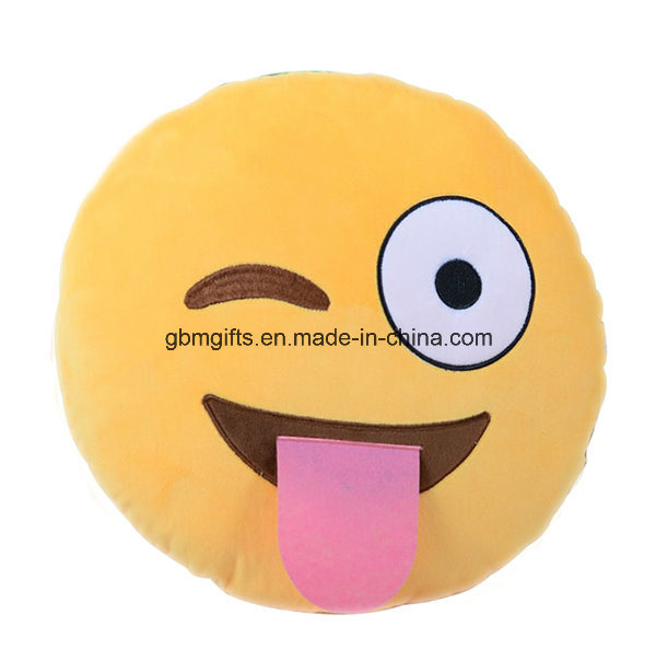 Emoji Cushion, Filled of Microbeads