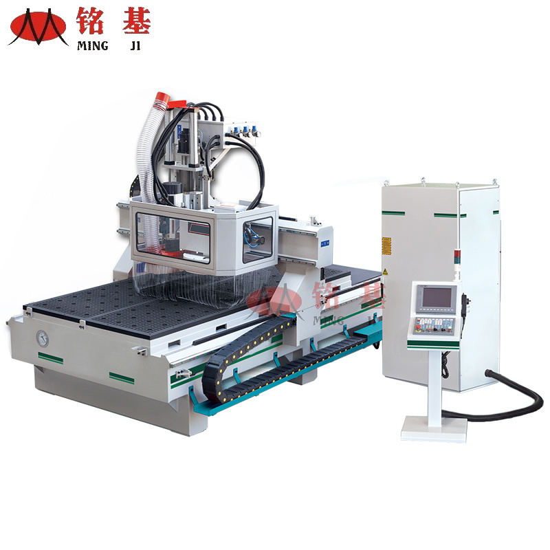 Woodworking CNC Router Machine with Auto Tool Changer