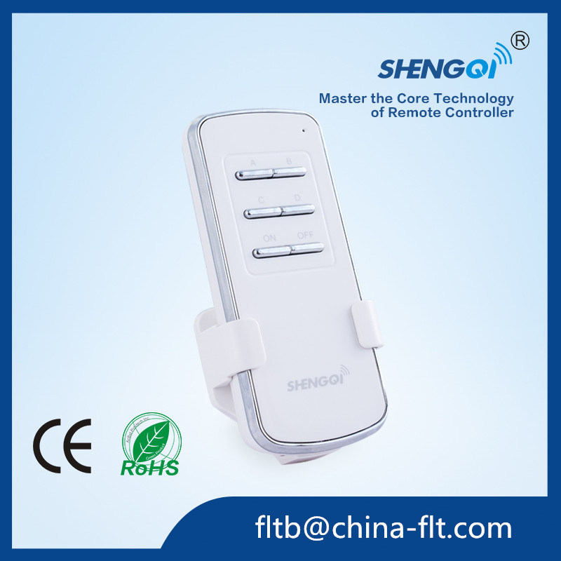 FT-4 RF 4 Channel Remoted Control for Ceiling Lamp with Ce