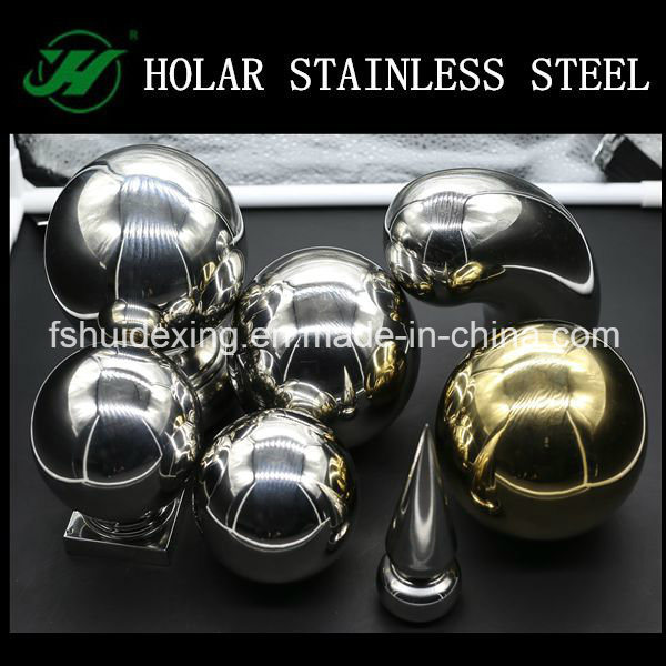 High Polish Stainless Steel Stair Handrail Accessories