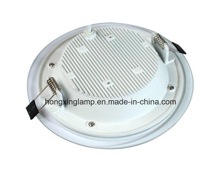 LED Downlight 9W 12W 18W Round Glass LED Panel Light
