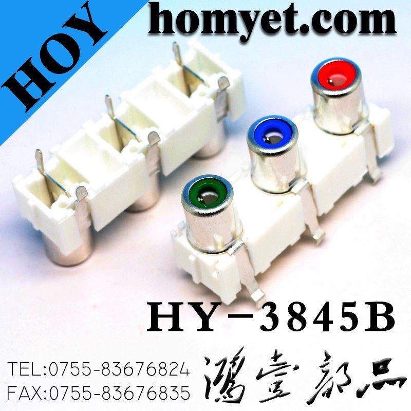AV Socket/RCA Socket with The Core Lotus Single-Hole