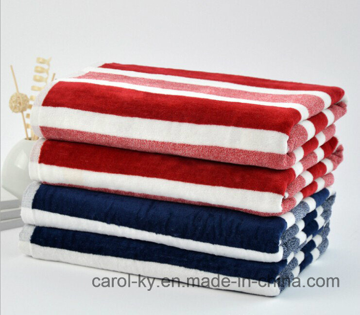 100% Cotton Stripe Yarn Dyed Beach Towel