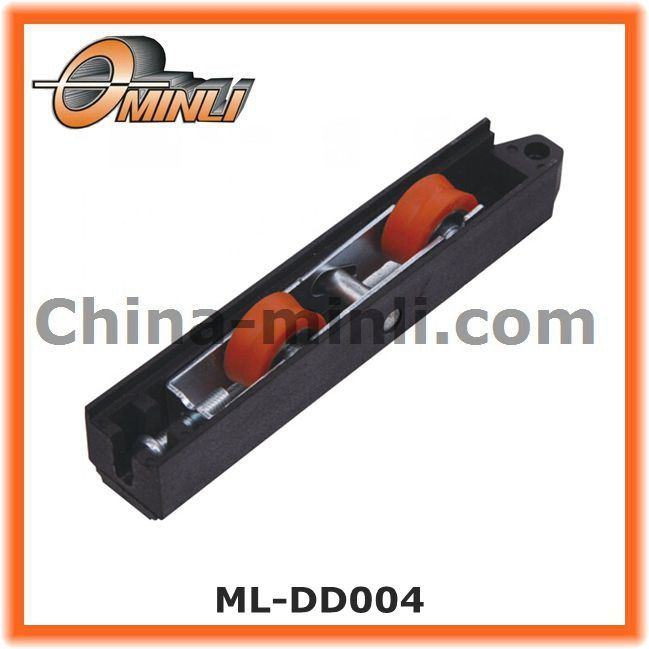 Window Roller with Two Groove on Plastic Nylon Bracket (ML-DS013)