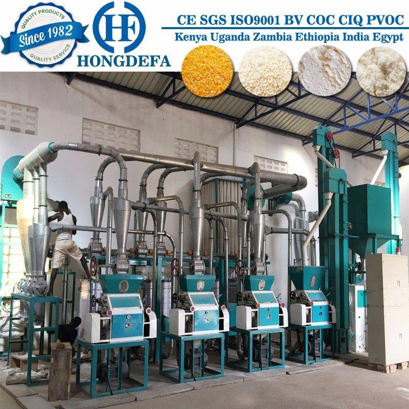 Automatic Roller Factory Wheat Corn Maize Flour Milling Mill Machine