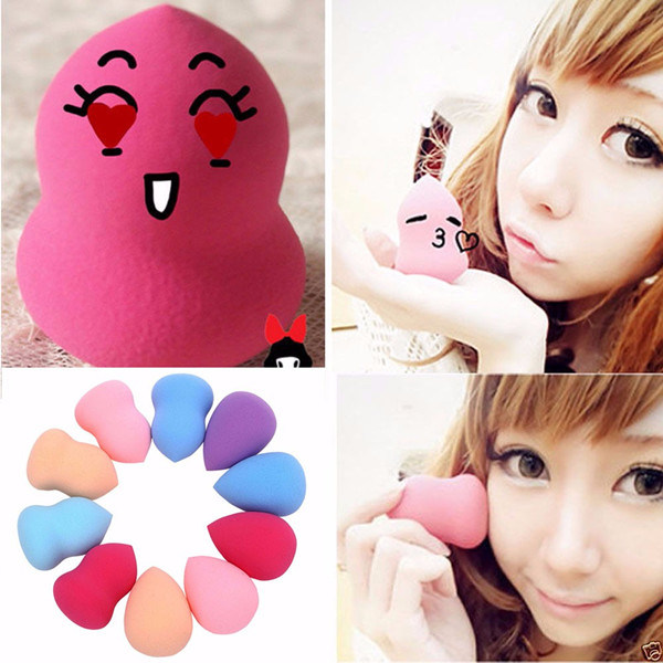 Hot Selling Pretty Makeup Using Cosmetic Sponge Latex Free Make up Sponge