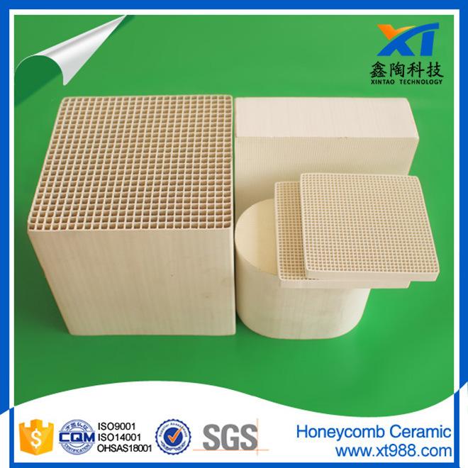 Porous Cordierite Honeycomb Ceramic Monolith