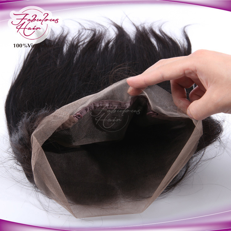 8A Grade Brazilian Virgin Human Hair Full 360 Lace Frontal