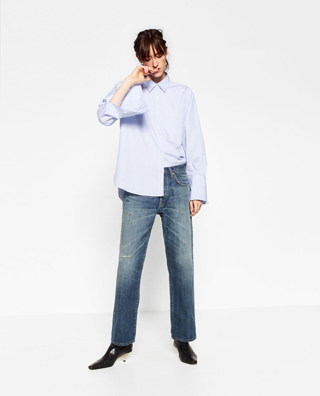 Fashioned Women Straight Trousers