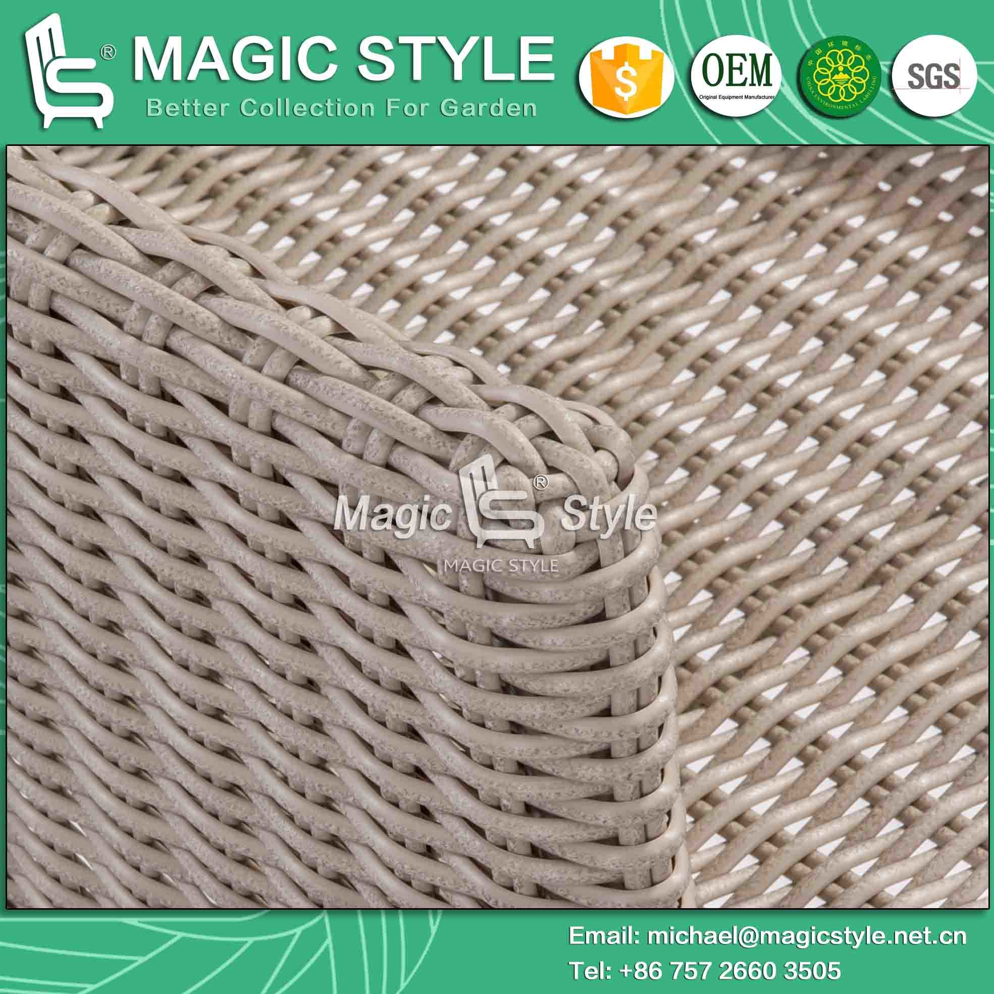 Outdoor Dining Chair with Arm Rattan Wicker Dining Chair Hotel Project Club Chair Garden Rattan Chair Patio Dining Chair