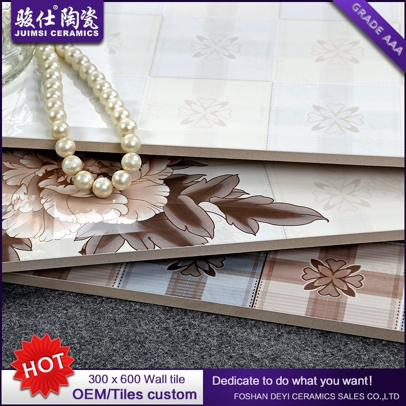 Foshan Waterproof 300X600 Kitchen & Bathroom Ceramic Glazed Wall Tile