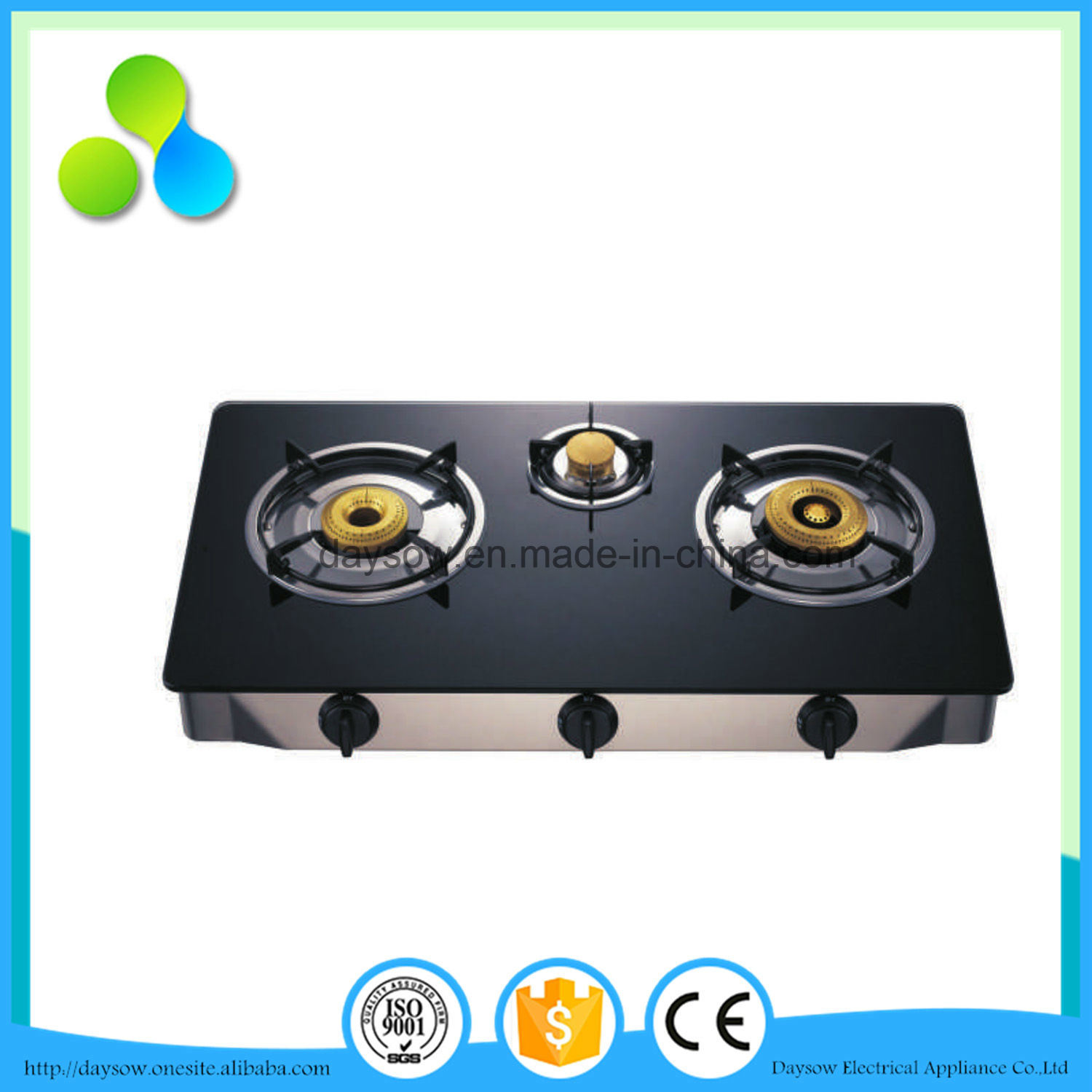 Low Price Pakistan 3 Burner Gas Stove