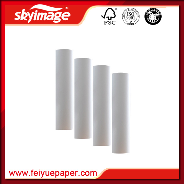 Anti-Curl Light-Weight Full Dye Sublimation Printing Paper Roll Size