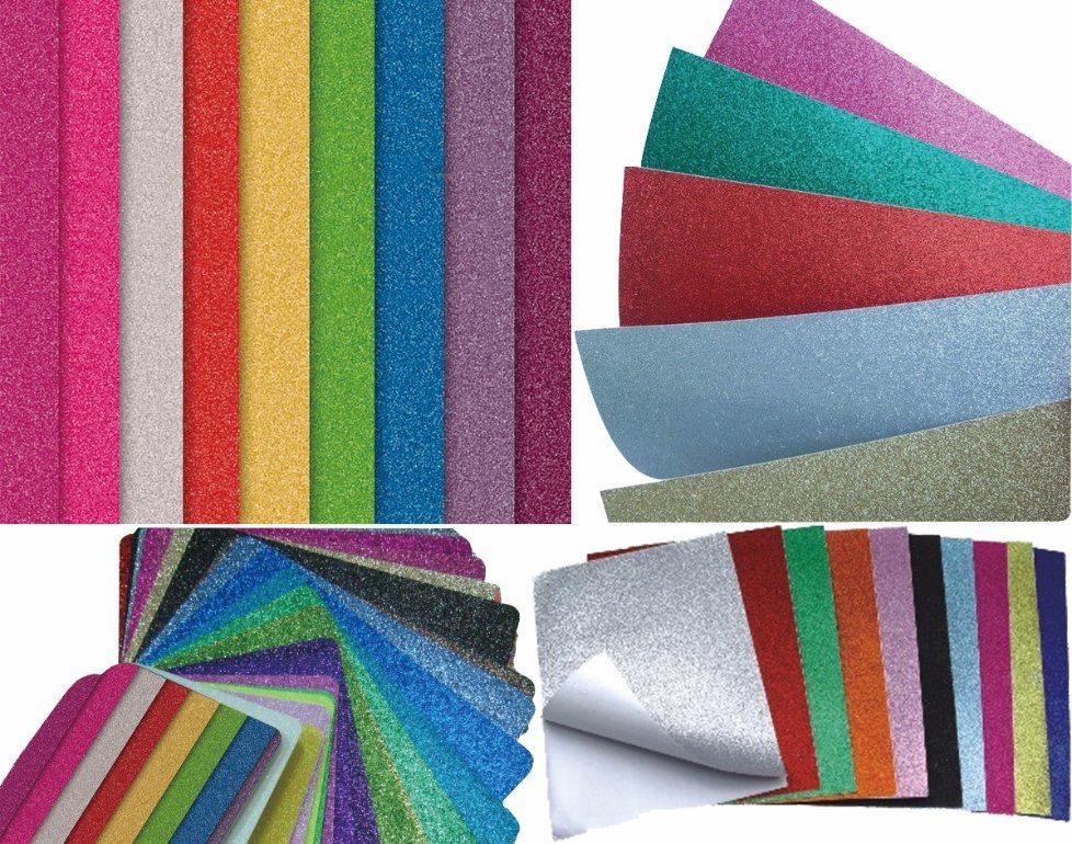 Glitter Does Not Fall Glitter Cardboard Glitter Paper for Hobby Craft
