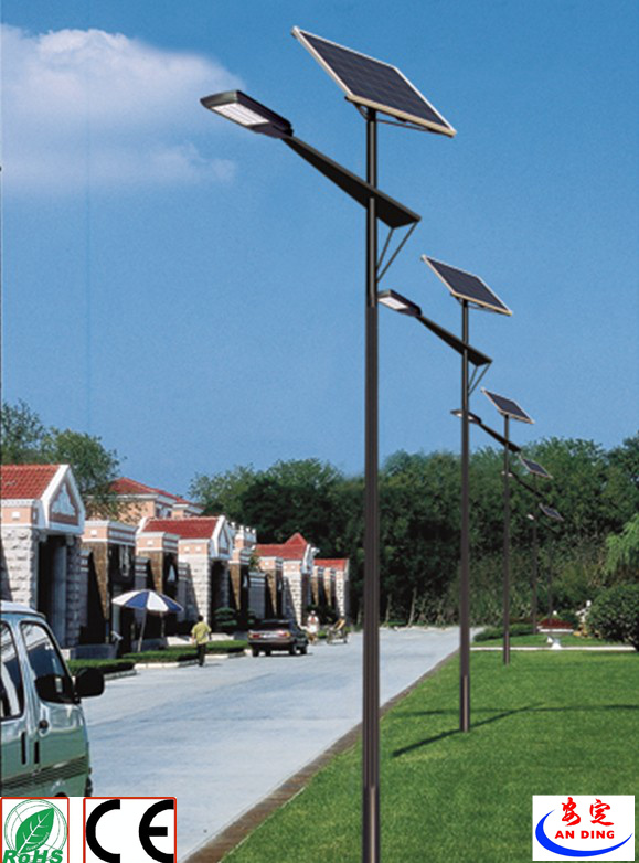 Rechargeable Lamp Ce CCC Certification Approved Aluminium Solar Street Light