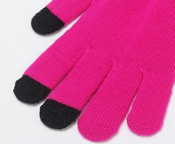 Colourful Touch Screen Fashion Gloves