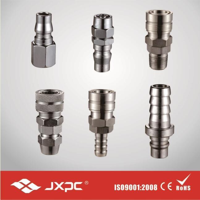 Pneumatic Quick Metal Coupling Without O-Ring