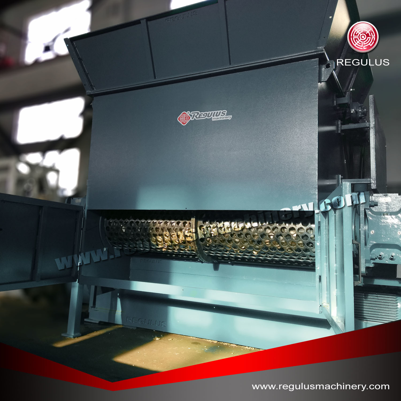 Plastic Single Shaft Shredder Machine