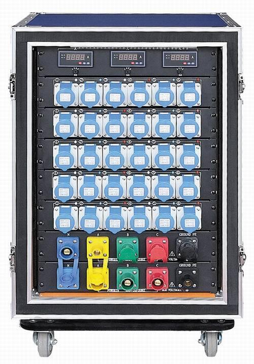400A Camlock Power Input Electrical Box