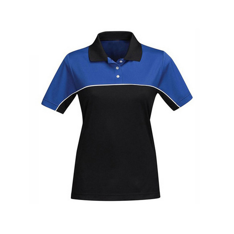 Design Women′s Blank Plain Cotton Polo T Shirts
