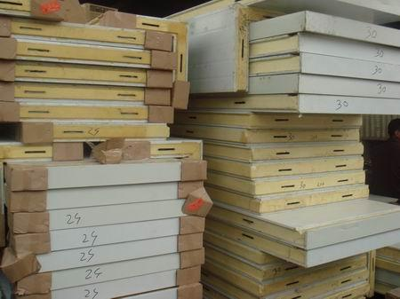 150mm Ceiling and Wall Polyurethane Sandwich Panel for Cold Room