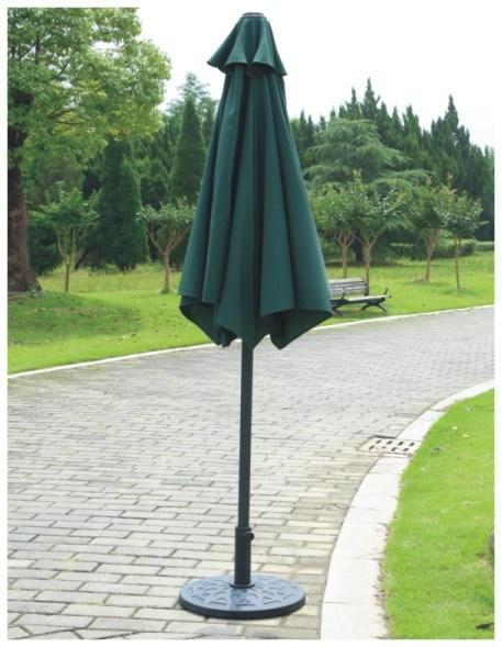 Metal 6 Rib Outdoor Parasol