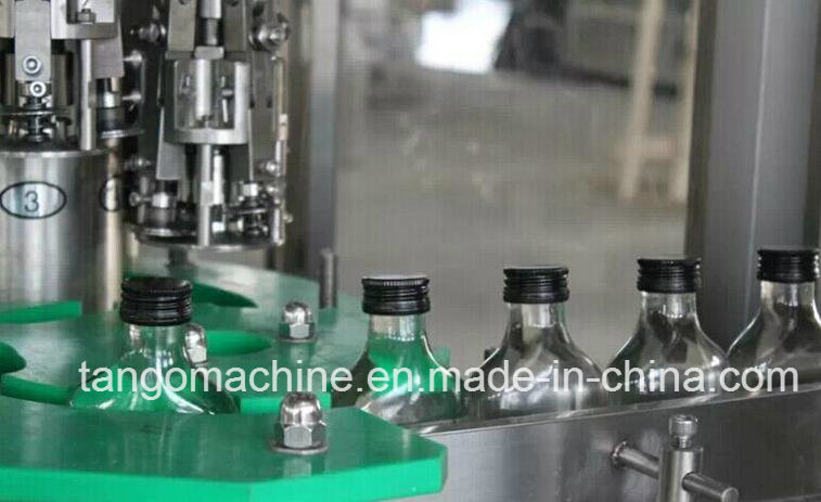 Complete Orange Juice Hot Filling Machine for Glass Bottle