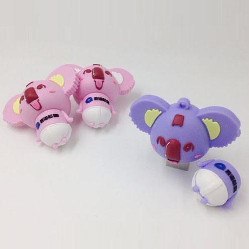 Pink Cute Koala Cartoon Gift USB Flash Drive Doll Gift Custom Logo USB 128GB 256GB