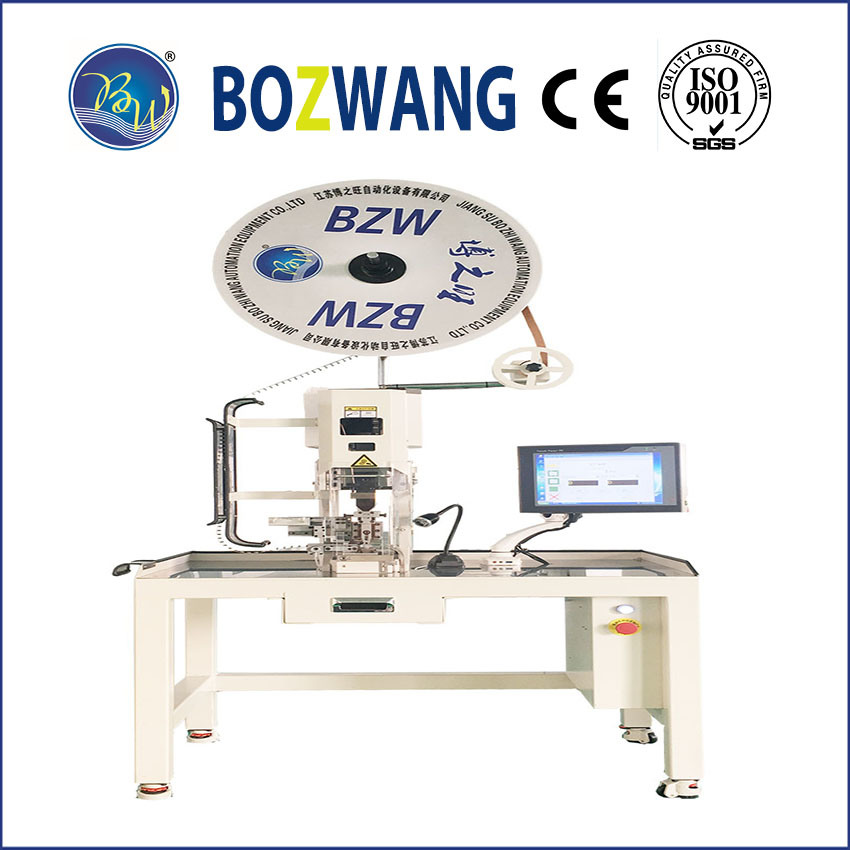 Servo Terminal Crimping Machine with Net Management Control System