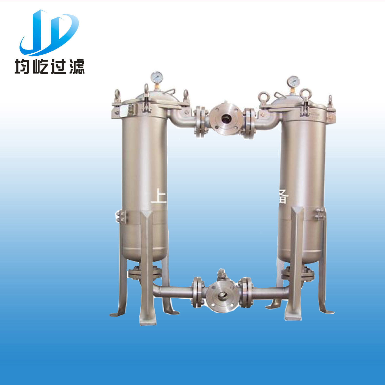 Parallel Connection 100% Stainless Steel Filter Equipment