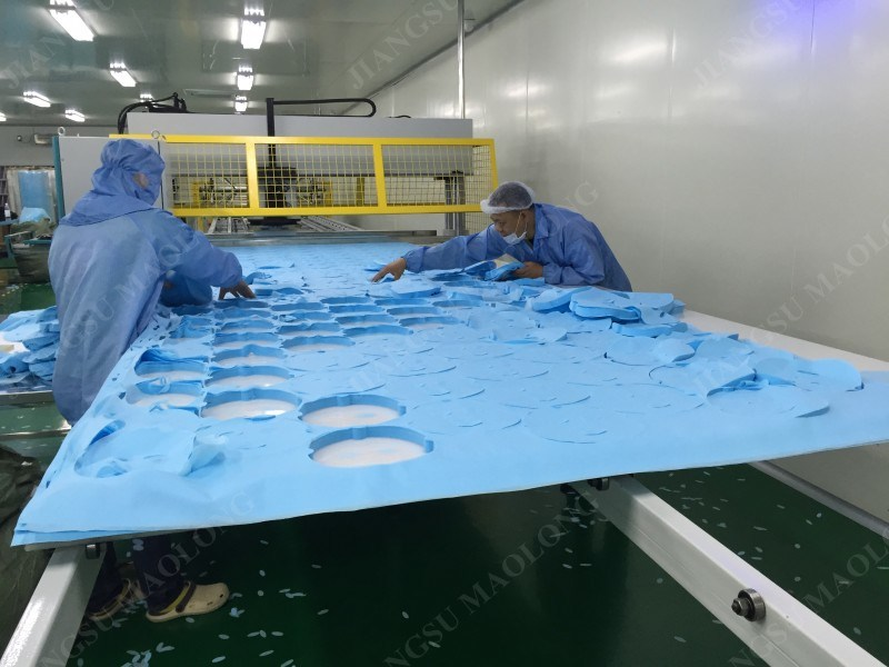 Precision Hydraulic Non Woven Fabric Making Machine for Face Mask Fabric