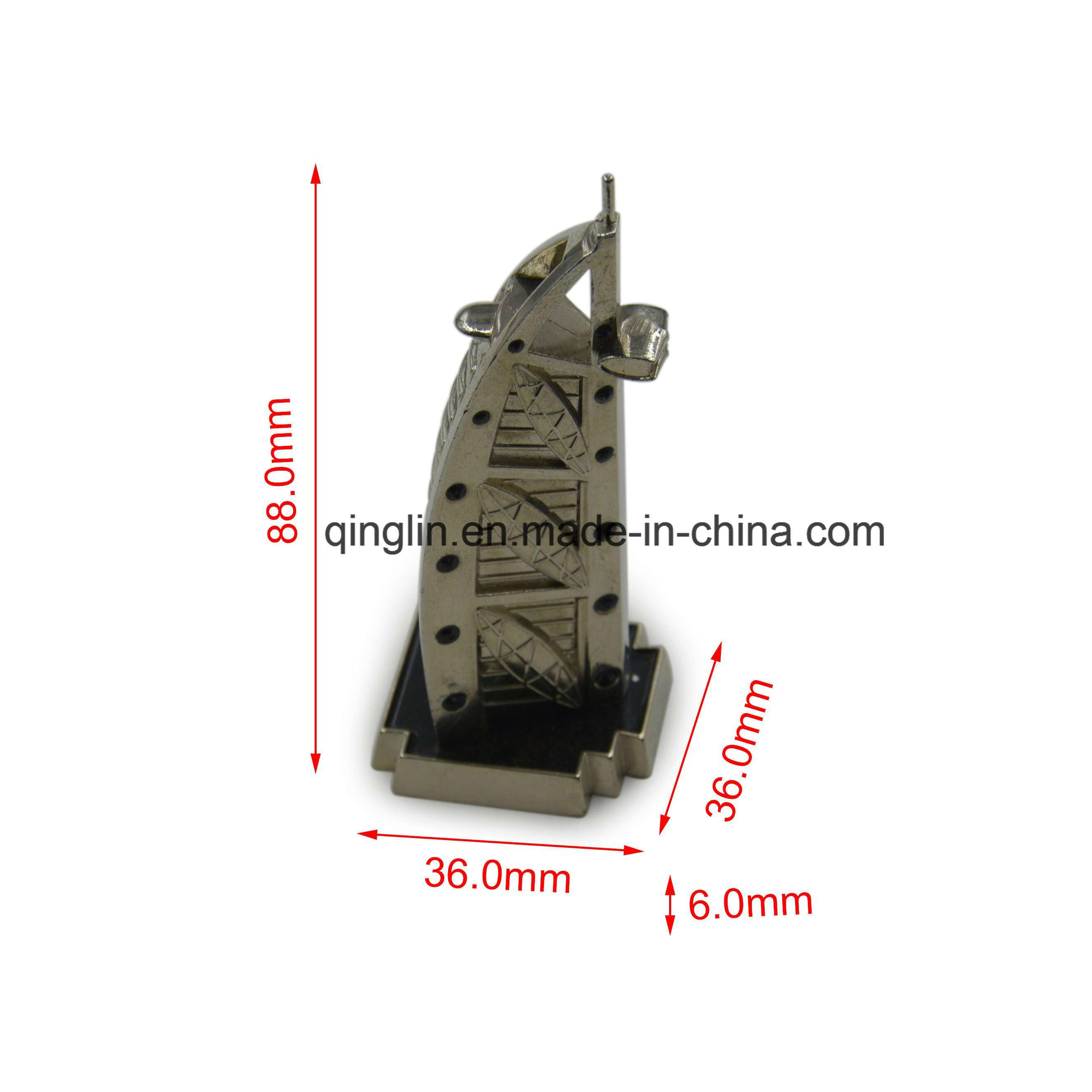 Promotional Custom Metal Tourist Model Souvenir