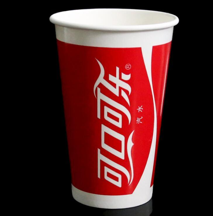500 Ml Disposable Paper Cold Drinking Cup/