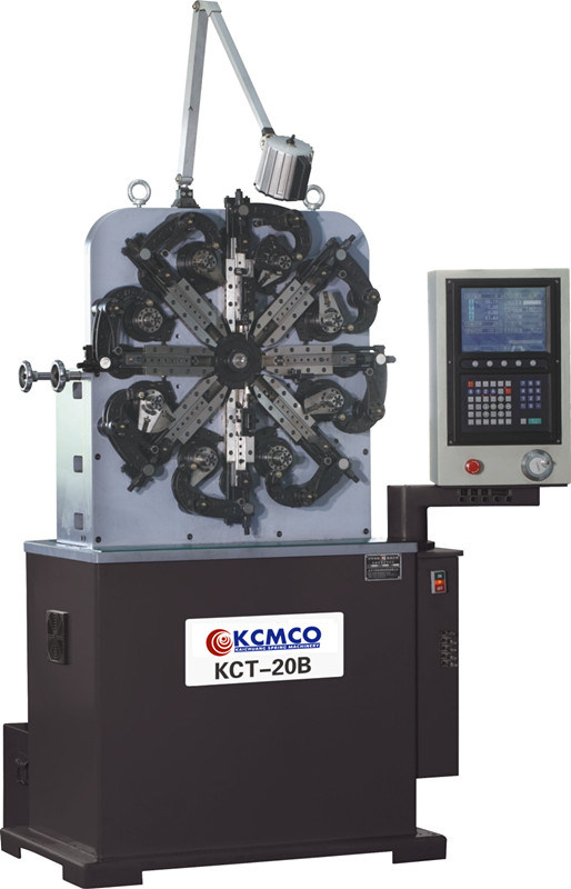 Kcmco-Kct-20b 0.2mm CNC Duck Clip Spring Forming Machine&CNC Spring Forming Machine