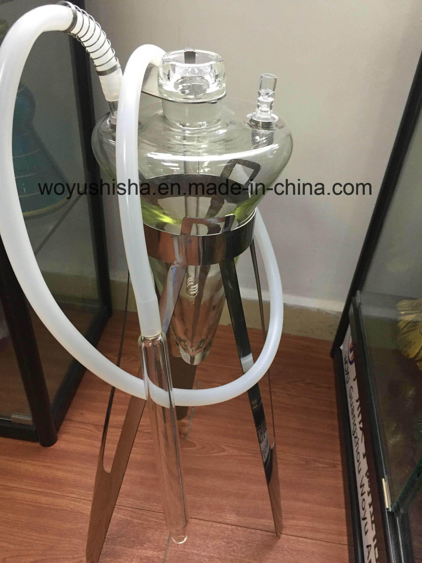 1 Set Glass Craft Water Pipe Smoking Pipe Hookah