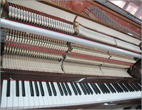 Schumann (E2) Black 121 Upright Piano Musical Instruments