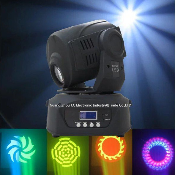 Newest 120W LED Spot Moving Head Light