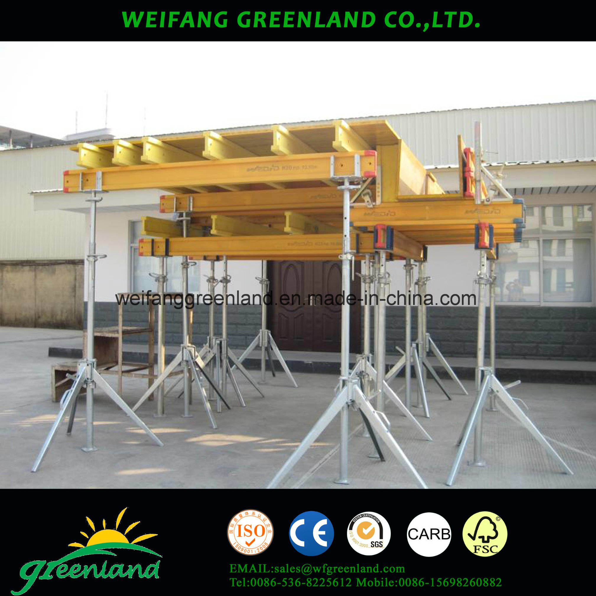 Pine Wood H20 Beam for Consruction Usage