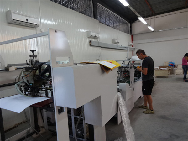 120-300GSM Sheet-Feeding Paper Bag Making/Forming Machine