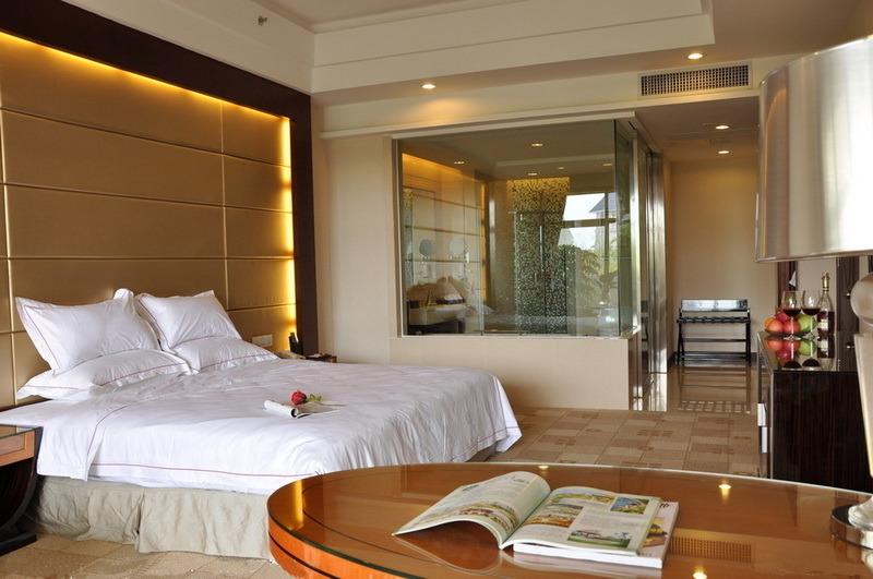 2014 Chinese Modern Hotel Wooden Bedroom Furniture EMT