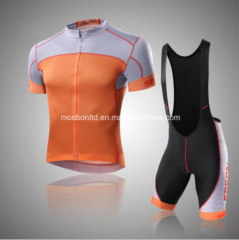 Men′s Sports Riding Suit Bicycle Clothes with Bib Shorts Bike Cycling Wear for Men