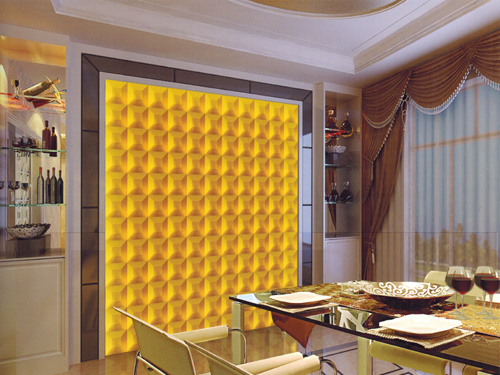 3D Waterproof Decorative Wall Panel