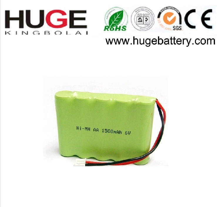 1.2V 3000 - 4500 mAh AA Nickel metal hydride Battery (AA Ni-MH Battery Pack)