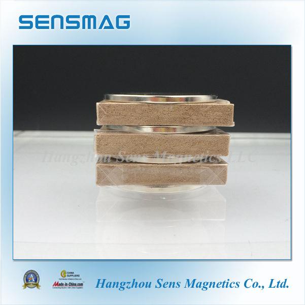 N52 N45sh N35 Customized Permanent NdFeB Neodymium Magnet for Motor